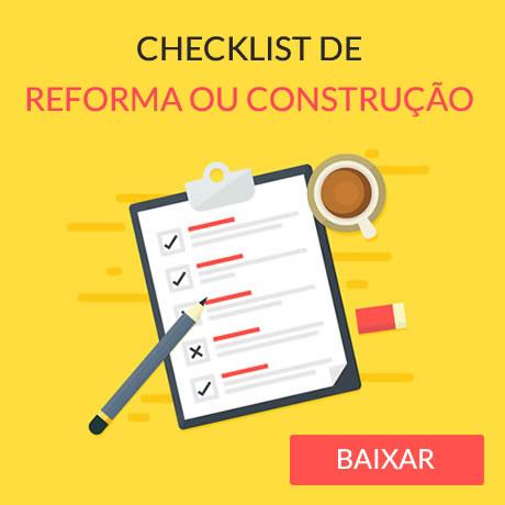 Checklist Reforma ou Construção