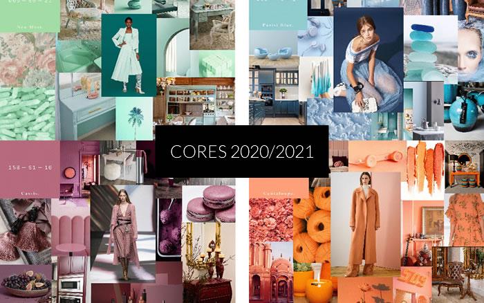 Cores Tendências para 2020/2021