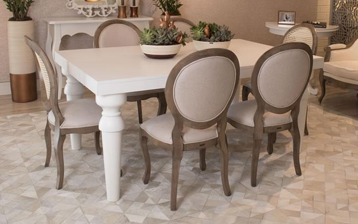 Mesas Provençais: a escolha perfeita para sua sala de jantar