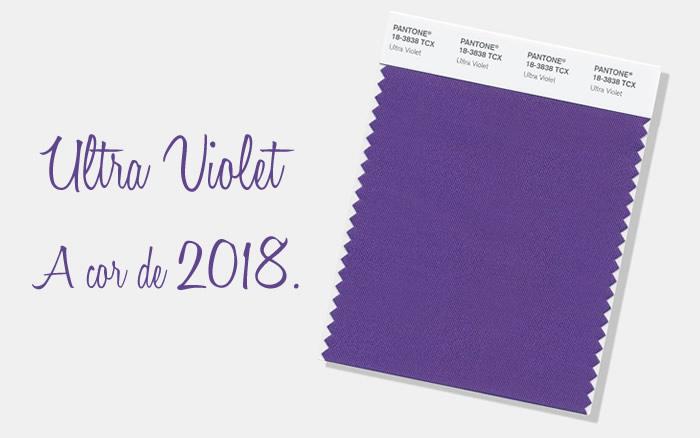 Ultra Violet: Pantone define cor de 2018