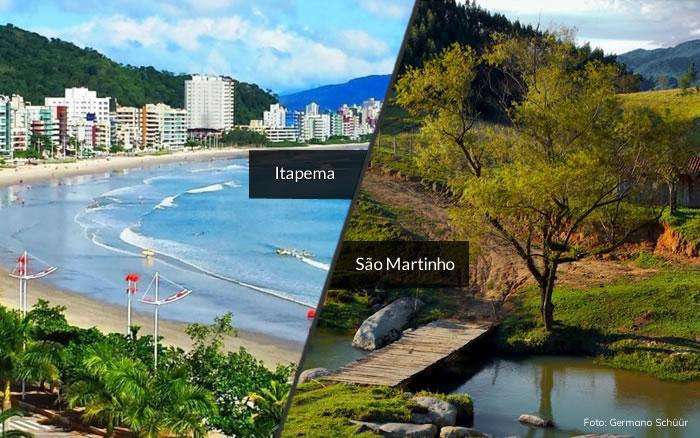 Dicas de viagem: duas cidades em Santa Catarina que você precisa conhecer