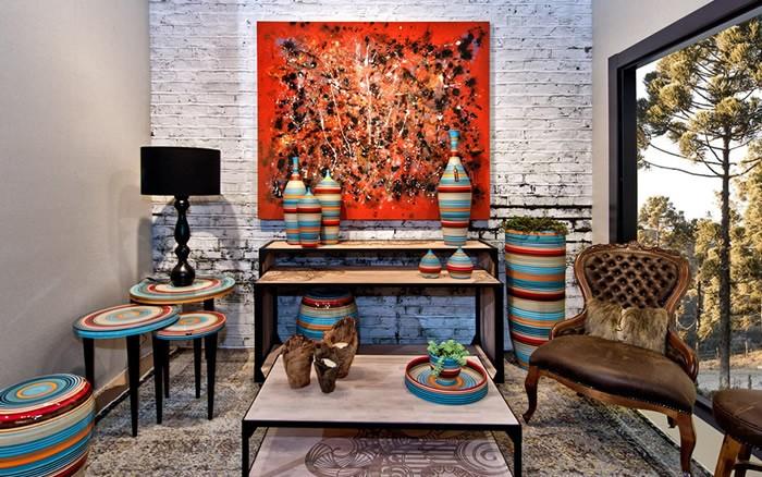 Cerâmicas como peças decorativas
