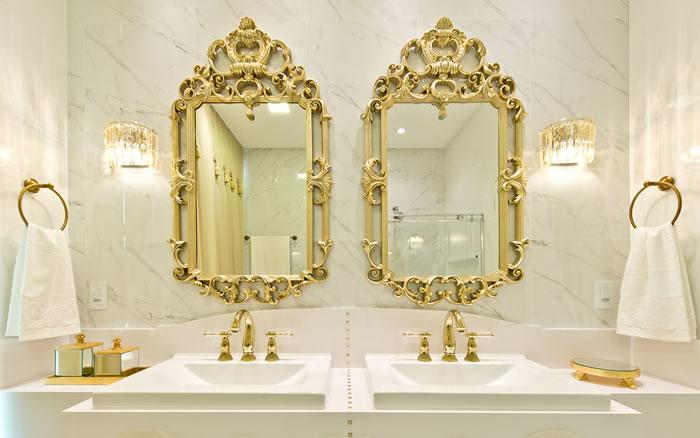 5 Banheiros Elegantes para sua casa