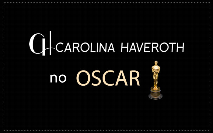 Carolina Haveroth no Oscar 2018