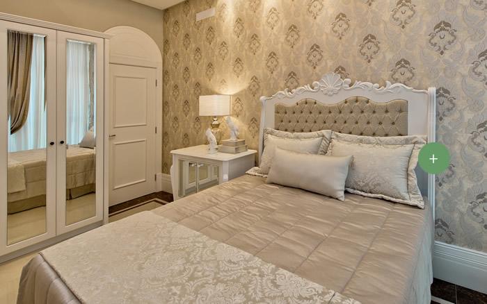 10 quartos de casal para voc se inspirar blog chateau blanc - Camas estilo romantico ...