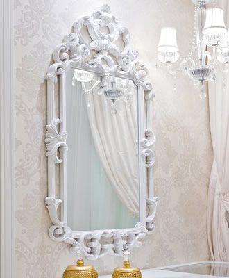Espelho Provençal Branco