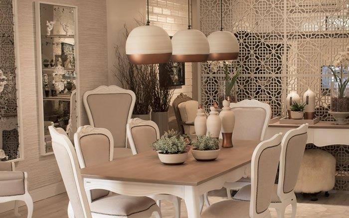 Pendentes Cerâmica Sala de Jantar