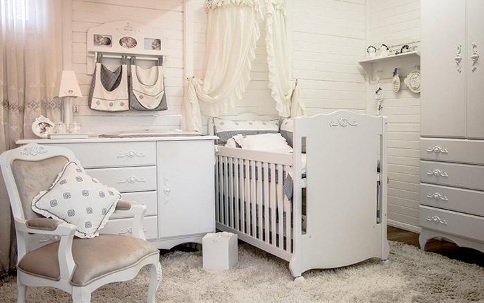Opções para quartos de bebê e crianças