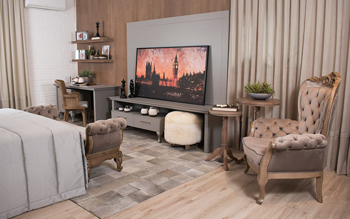Mudar os móveis de lugar