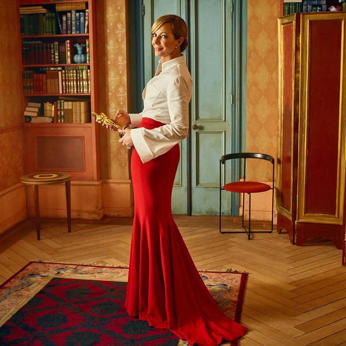 Allison Janney, ganhadora do prêmio de melhor atriz coadjuvante