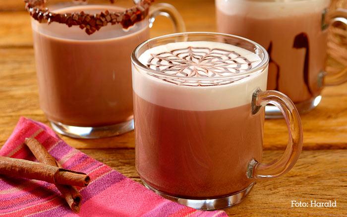 Receita Chocolate quente cremoso simples e fácil