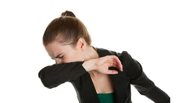 Espirre no braço - Combate Coronavírus