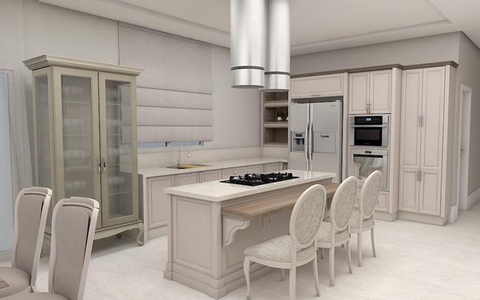 Cristaleira em Cozinha
