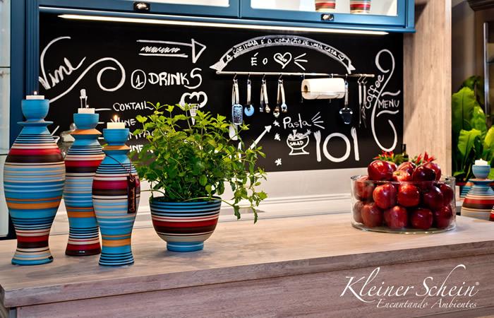 Vaso Cerâmica com Plantas