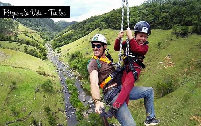 Tirolesa Parque La Vista