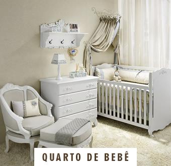 Móveis Provençais Quarto de Bebê