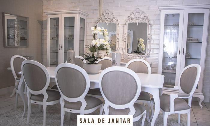 Móveis Provençais Sala de Jantar