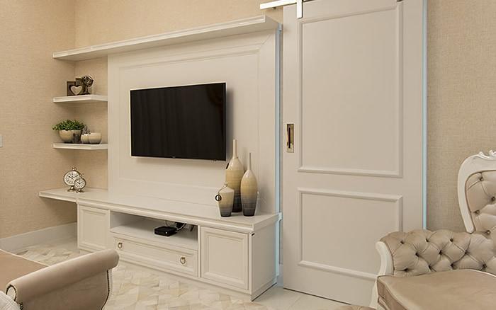 M�veis quarto laqueados cor branca