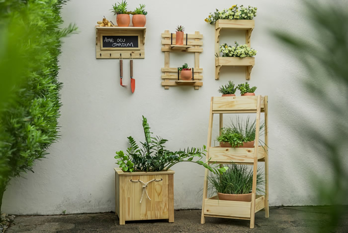 Coleção Decoração para Jardim