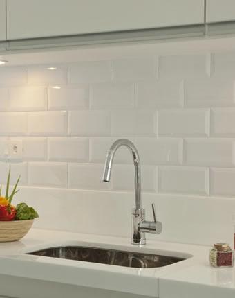 Revestimento Metro White na Cozinha