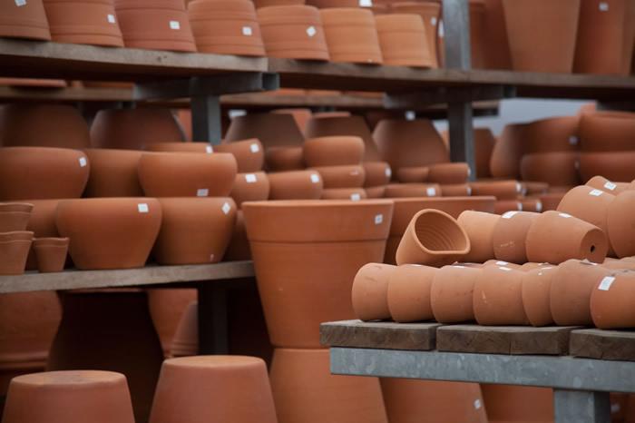 Estoque Vasos Cerâmicas Cru