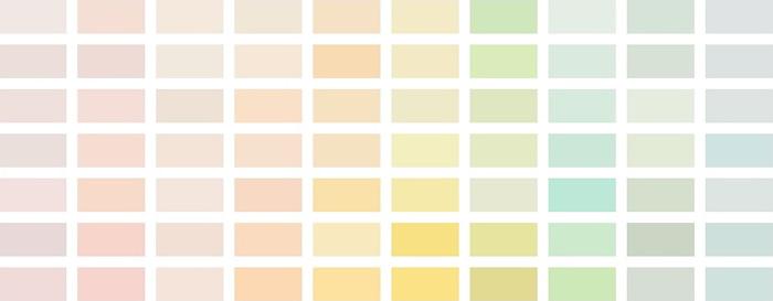 Paleta Cores Pastel