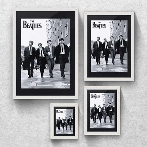 Quadro Banda Beatles