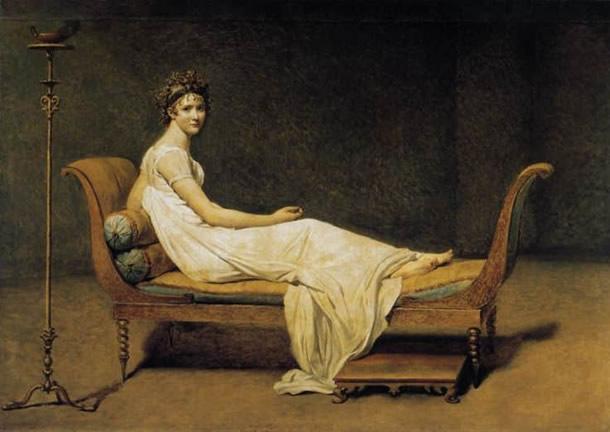 Pintura Madame Récamier