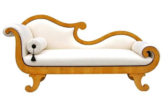 Chaise Longue Dourada