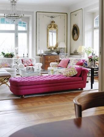 Chaise Longue Rosa