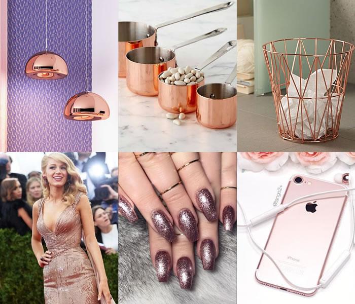 Rose Gold: Tendência no Mundo do Decor e da Moda