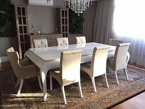 Mesa de Sinuca e de Jantar